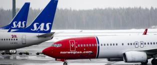 Unders�kelse: SAS knuser Norwegian p� jobbreiser