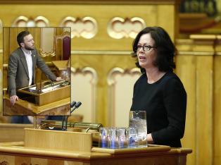 Nektet � si seg uenig med Sandberg