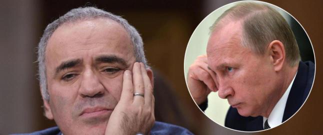 Sjakklegenden sammen�likner Putin med en �kreftsvulst som m� fjernes�
