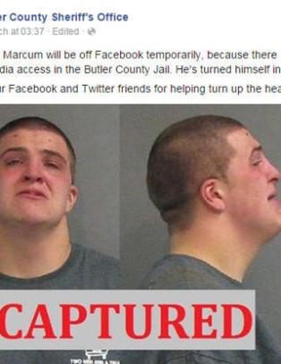 Andrew (21) svarte p� sin egen etterlysning p� Facebook. Det skulle han ikke ha gjort