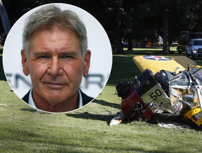 S�nnen bekrefter: Harrison Fords fly krasjet p� golfbane
