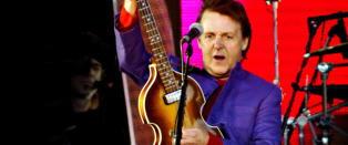 Paul McCartney til Norge i juli