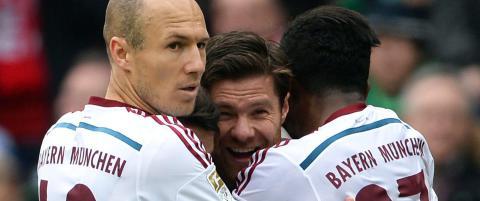 Bayern tok stort steg mot ligagull i Tyskland
