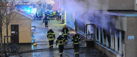 Mosk�brann var ikke attentat - men trolig brann i en frityrkoker