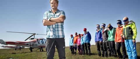 Spilte inn norske �Dropped� i samme omr�de som helikopter-ulykken