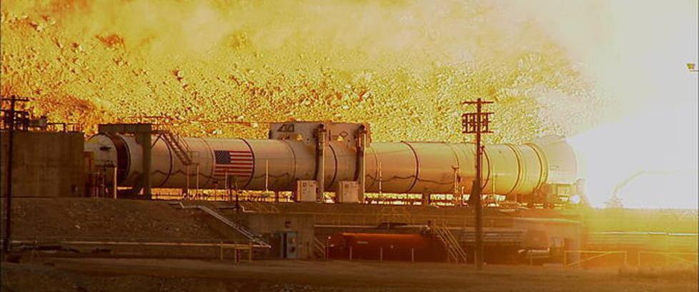 Tidenes kraftigste rakettmotor skal f� mennesker til Mars