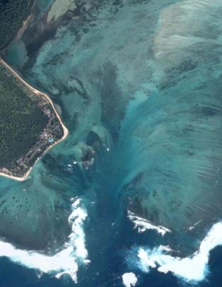 Ser ut som noen har dratt ut proppen utenfor Mauritius