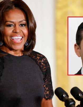 �Michelle Obama ser ut som hun er en del av �Planet of the Apes�