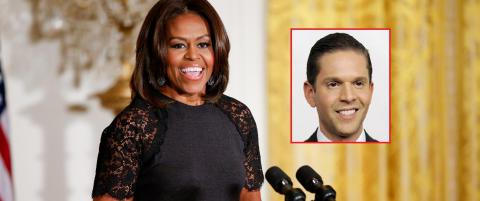 �Michelle Obama ser ut som hun er en del av �Planet of the Apes�