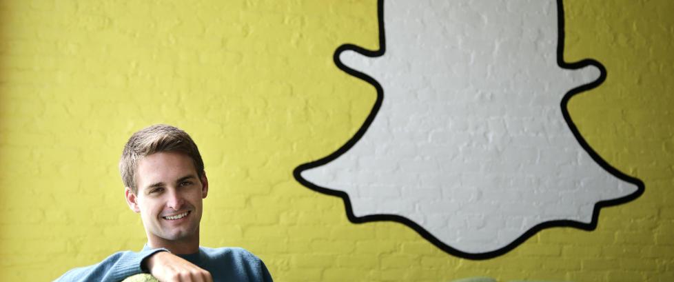 Snapchat-gr�nderen er verdens yngste milliard�r