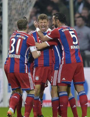Overlegne Bayern fosser videre i Bundesliga