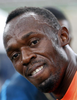 Bolt tok �rets f�rste seier