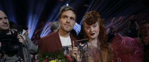 M�rland & Debrah Scarlett vant Melodi Grand Prix