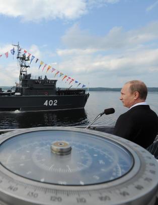 Putin beordrer stor milit�r�velse: - Nordfl�ten i full alarmberedskap