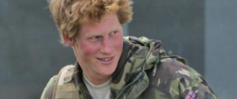 Prins Harry slutter i milit�ret
