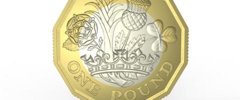 Her er britenes nye mynt