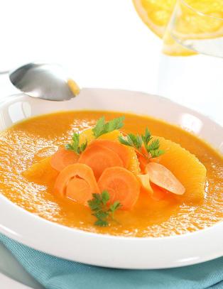 Tjuvstart p�sken med friske appelsinretter