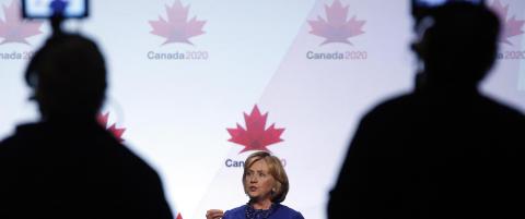 Mystiske og mektige Mary tjener millioner p� Hillary
