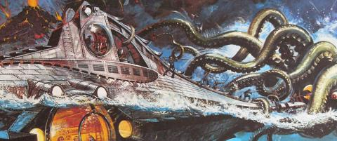 Jules Vernes farefulle ferd under havet til Lofoten