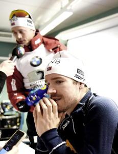 - Det er samling i b�nn for norsk skiskyting