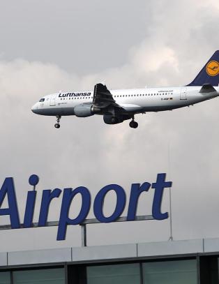 Annethvert Lufthansa-fly p� bakken ogs� i dag