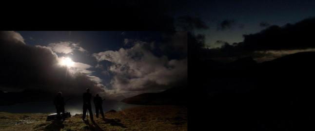 Spilte inn unik musikkvideo under solform�rkelsen