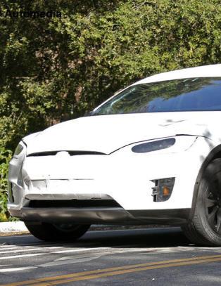 Helt ny Tesla avsl�rt p� veien