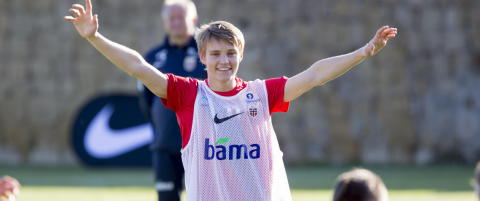 - Jeg er ganske sikker p� at Martin �degaard starter p� topp mot Kroatia