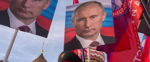 For hver dag som g�r blir det russiske samfunnet stadig mer gjennomsyret av hat