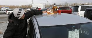 - Russiske alkoholikere tyr til hjemmebrent og rengj�ringsprodukter