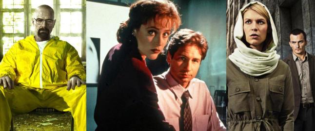 Disse seriene videref�rte �X-Files�-arven