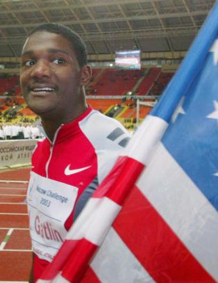 Hudfletter Nike for � sponse dobbelt dopingtatt amerikaner