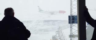 Store forsinkelser i fly- og tog-trafikken i Oslo