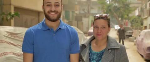 Egyptiske menn t�r ikke si navnet p� sin egen mor