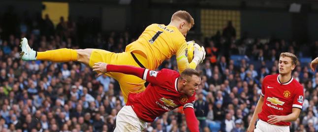 Citys Joe Hart hyller Wayne Rooney: - Han er v�r viktigste spiller