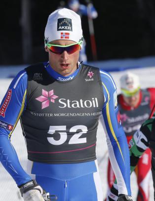 Northug slo Sundby i NM-finalen