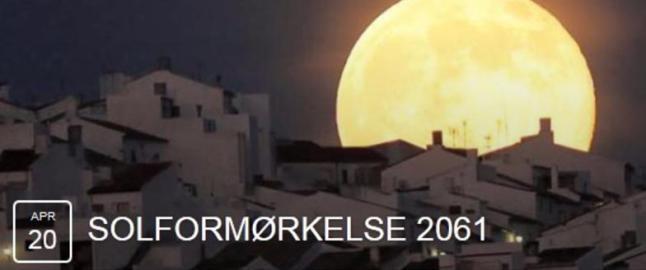 N�rmere 60 000 nordmenn gj�r seg klar for solform�rkelsen i 2061