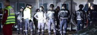 10 isolert og 11 anmeldt etter Trandum-oppr�ret