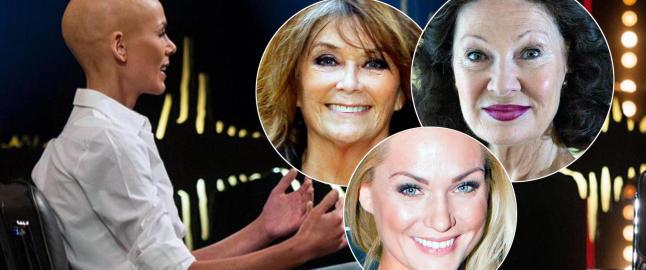 Hylles av norske kjendiskvinner