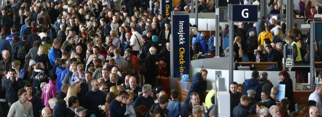 SAS sender passasjerer �tte timer i buss