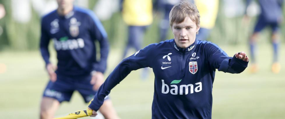 Martin �degaard er Norges 10. beste spiller