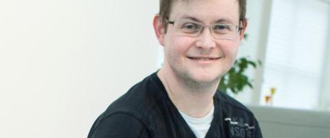 Kristian er en av tre MS-rammede som har f�tt en helt spesiell behandling