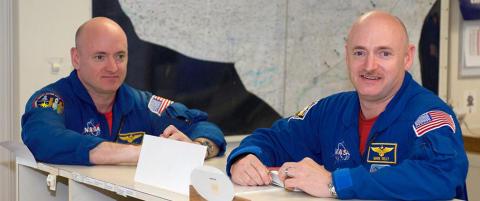 Unikt eksperiment: Tvillingastronauter starter verdens lengste romekspedisjon