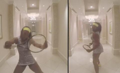 Serena Williams tar en �Beyonc� i ny video