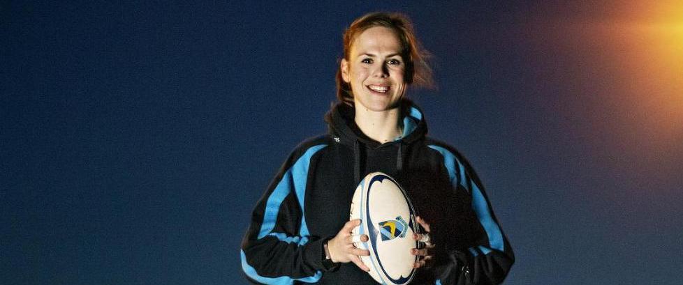 �Rugby er egentlig en idrett som passer norske jenter godt�