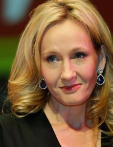 J.K. Rowling hylles i sosiale medier