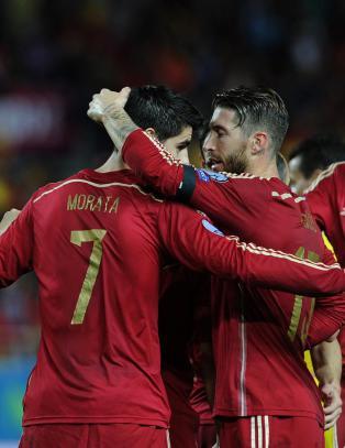Morata reddet blekt Spania mot Ukraina