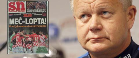Nerver og en sint pappa. Disse overskriftene m�ter H�gmo i Kroatia