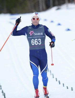 Sprinteren har ikke g�tt fem mil p� ti �r. I dag tok han NM-gull