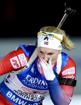 Marte Olsbu ble NM-dronning i skiskyting